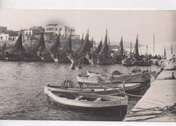 Cpa.Espagne.Ametla De Mar.animé Barques De Pêche.animé Pêcheurs - Tarragona