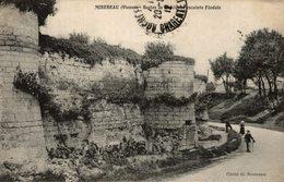 MIREBEAU RESTES DE L'ANCIENNE ENCEINTE FEODALE - Mirebeau