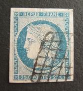 LOT R1631/1358 - CERES N°4 - GRILLE ARRONDIE - Cote : 60,00 € - 1849-1850 Ceres