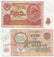 Rusia - Russia 10 Rublos 1961 Pick 253.a Ref 693 - Rusia
