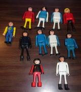 Lot De 11 Playmobil Vintage (Playbig-Geobra-Meccano) - Playmobil