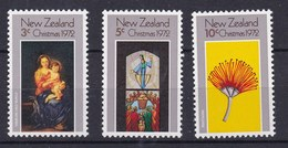 Nuova Zelanda New Zealand 1972 Natale 628-30 Mnh - Ongebruikt