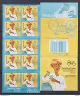 Singapore 2013 Vanishing Trades, Dairy Man Bicycle Booklet **10th Reprint (Imprint 2017K) MNH - Ciclismo