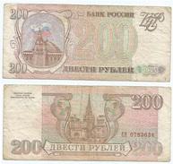 Rusia - Russia 200 Rublos 1993 Pick 255 Ref 1253 - Rusia