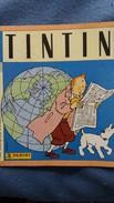 ALBUM D IMAGES VIGNETTES AUTOCOLLANTES TINTIN HERGE 1989 VIDE  COUVERTURE UN PEU PIQUEE MAIS BON ETAT - Vieux Papiers