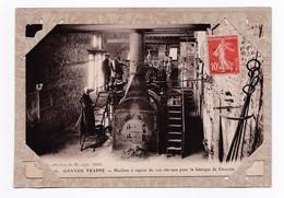 Machine à Vapeur De 100 Chevaux Pour La Fabrique De Chocolat ( Carte Avec Porte Carte De Présentation) - History