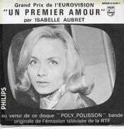 Isabelle Aubret 45t. SP JUKE BOX *un Premier Amour* Eurovision 1962 - Vinyl Records