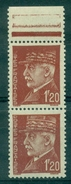 FRANCE VARIETE N° 515 N Xx P&O De Poste +haut Du Képi Disparus +petit Format Tenant à Normal Ttb - Variétés: 1941-44 Neufs