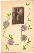 PK - Bloemen Geknipt Uit Postzegels - Bloemen