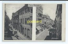 GIBRALTAR MAIN STREET. OLD USED POSTCARD  C.1910 # 166. - Gibraltar