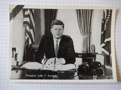 CPSM - PRESIDENT JOHN F KENNEDY - REAL PHOTO - ROTTERDAMSTRAAT -  R1761 - Personaggi