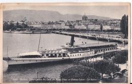 """Vapeur Salon Du Lac Léman """"La Suisse"""" - Barche"""