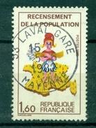 FRANCE  VARIETE N°2202 Sans Le 7 Oblitéré LAVAL GARE Cote Maury : 20 € - Variétés: 1980-89 Oblitérés
