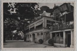 Auvernier - Hotel Du Poisson Mit Auto-Garage, Oldtimer - Phototypie No. 4867 - NE Neuchâtel
