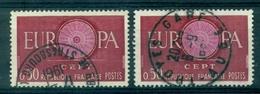 FRANCE  VARIETE N°1267 Rosace Pale OBLITERE Troyes Gare Tb + 1 Ex Normal - Variétés: 1980-89 Oblitérés