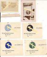 1917 2 Photos Insigne Du 84ème Régiment D'artillerie 10è Groupe Sur Camion + 4 Variantes De L'insigne Sur Papier Ww1 - War, Military