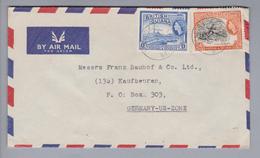 SA British Guiana 1958-10-15 Vendori Luftpostbrief Nach Kaufbeuren DE - Guyane (1966-...)