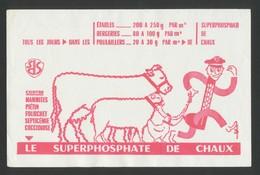 Buvard - SUPERPHOSPHATE DE CHAUX - Buvards, Protège-cahiers Illustrés