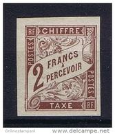 Col. Gen. Yv Nr Taxe 16  45 MH/* Avec  Charnière - Postage Due