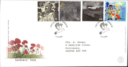 07.12.1999 Soldiers' Tale Royal Mail Millenium First Day Cover FDC St Andrews Fife SHS - FDC