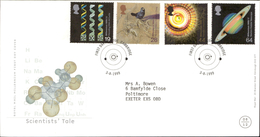 03.08.1999 Scientists' Tale Royal Mail Millenium First Day Cover FDC Cambridge SHS - FDC
