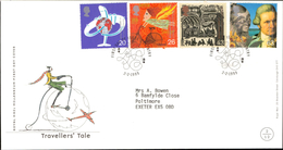 02.02.1999 Travellers Tale Royal Mail Millenium First Day Cover FDC Coventry SHS - FDC