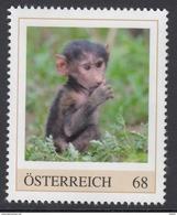 ÖSTERREICH 2017 ** Affe, Pavian - PM Personalized Stamps MNH - Personalisierte Briefmarken