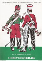 HISTORIQUE DU 20e BATAILLON DU TRAIN DES EQUIPAGES MILITAIRES AU 20e REGIMENT DU TRAIN - Books