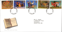 21.07.1998 Magical Worlds Royal Mail First Day Cover FDC Exeter SHS - FDC