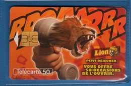 FRANCE - Telecom°(6) - LION - Petit Dejeuner. Scad. 11/97  .vedi Descrizione. - Schede Telefoniche