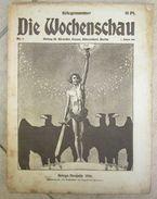 """Magazine Allemand WW1 """"Wochenschau"""" - 1914-18"""