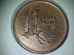 Zambia 2 Ngwee 1968 - Zambie