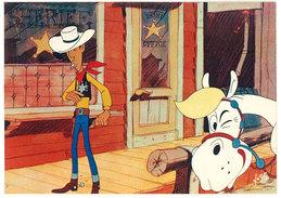 Cpsm  Lucky Luke Et Ses Compagnons ( Jolly Jumper, Shériff )       ( SPE ) - Stripverhalen