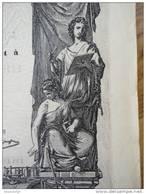 LIGNE INTERNATIONALE D´ITALIE PAR LE SIMPLON - RARE - 1867 RICHEMENT DECOREE - Railway & Tramway
