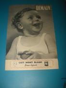 Publicité Lait MONT BLANC 1960 - Publicidad