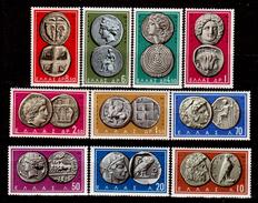 Grecia-F0242 - 1959 - Y&T N. 675-684 (+) Hinged - Senza Difetti Occulti. - Grecia