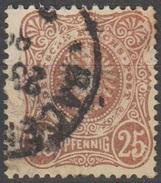 Allemagne Empire 1879 N° 40 Aigle (E1) - Usati