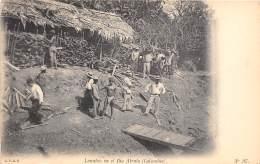 COLOMBIE - Ethnic / Lenatao En El Rio Atrato - Colombie