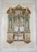 PRECIEUX SOUVENIR SI VOUS ETES FIDELE  Bouasse-Lebel & Massin 1ère Communion 1903 Image 3095 Ed St Sulpice Paris - Non Classés