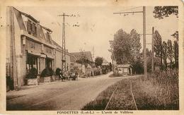37: Fondettes : L'arret De Valliere - Du Train Tramway ?  Gare ? - Autres Communes