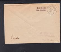Dt. Reich Besetzung Polen Poland Postsache 1939 Rukoschin Rukosin über Dirschau - Besetzungen 1938-45