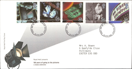 16.04.1996 100 Years Of Going To The Pictures A Cinema Celebration Royal Mail First Day Cover FDC Exeter District SHS - FDC