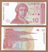 AC -  CROATIA 10 DINAR 1991 UNCIRCULATED - Croatie