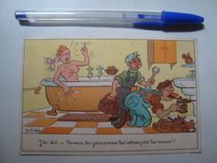 ROB-VEL ROBERT VELTER - FERMEZ LES YEUX - Nº 285 PHOTOCHROM - FRANCE (1956). EROTISME HUMEUR - Humour