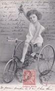 """Cartes Postales > Thèmes > Enfants > Portraits """" Enfance Joyeuse Filette A Tricycle """" N° 2508 - Retratos"""