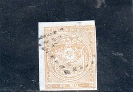EQUATEUR 1865-72 O PAPIER AZURE' - Equateur