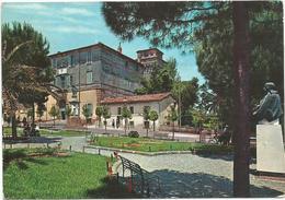 Y3444 Manziana (Roma) - Giardini Pubblici E Monumento A T. Tittoni / Viaggiata 1964 - Altre Città