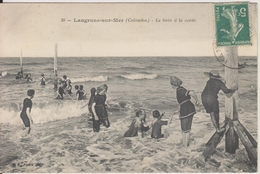 D14 - LANGRUNE SUR MER - LE BAIN A LA CORDE - Frankrijk