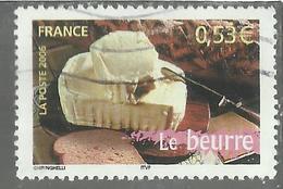 FRANCE FRANCIA 2006 LE BEURRE BUTTER BURRO OBLITERE' USED USATO - Oblitérés
