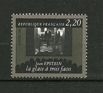 """FRANCE 1986  N° 2438 """"  Cinquantenaire De La Cinémathèque Francaise ( Jean Epstein La Glace à 3 Faces ) """"    NEUF - France"""
